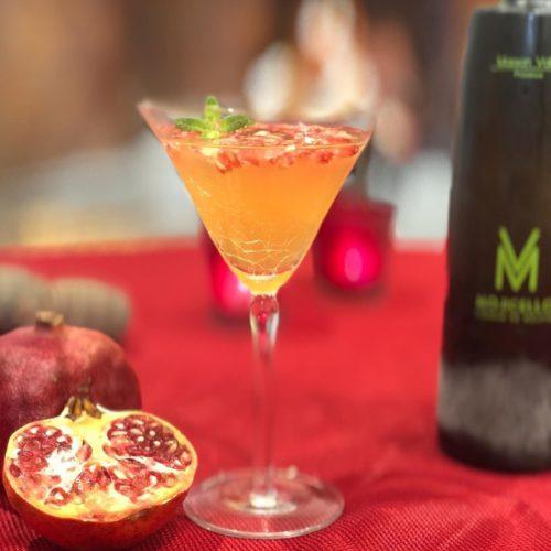 idée cocktail Mojicello Royal greande